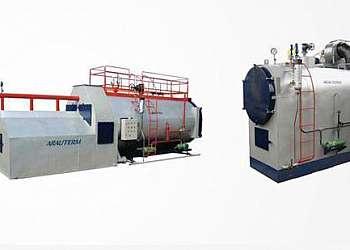 Instalação de caldeiras biomassa
