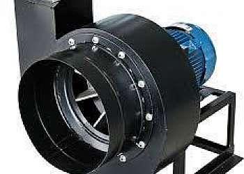 Exaustor centrífugo industrial radial