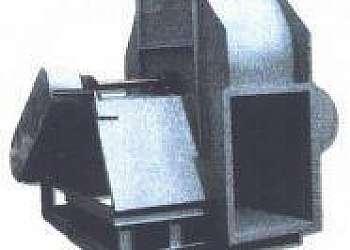 Exaustor centrífugo industrial usado