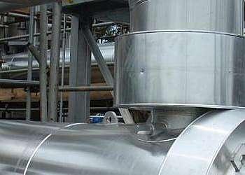 Montagem de isolamento térmico em caldeiras rj
