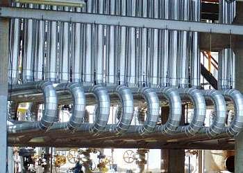 Montagem de isolamento térmico industrial sp