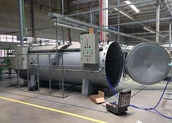 Serviço de instalação de caldeiras a vapor
